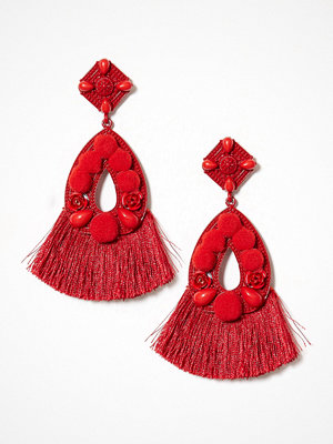 NLY Accessories örhängen Pom Tassle Earrings
