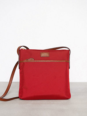 Lauren Ralph Lauren Medium Crossbody Röd axelväska