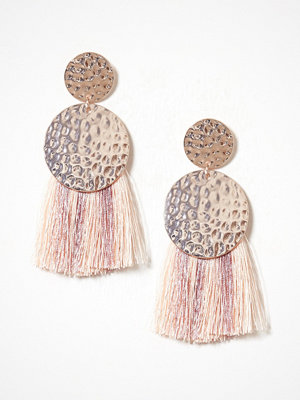 NLY Accessories örhängen Hammered Tassle Earrings