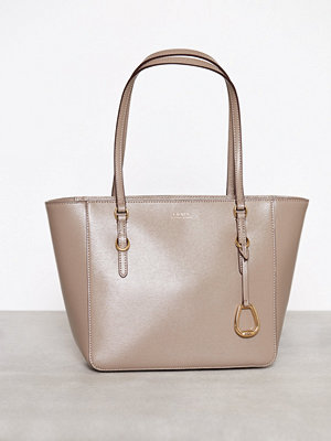 Lauren Ralph Lauren Shopper Medium Taupe
