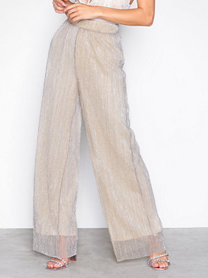Vero Moda omönstrade byxor Vmshimmer Hw Long Wide Pant SB6