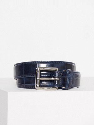 Bälten & skärp - Pieces Pcjoan Jeans Belt Mörk Blå