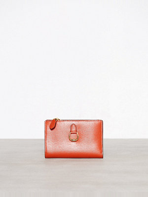 Plånböcker - Lauren Ralph Lauren New Compact Wallet Small Orange