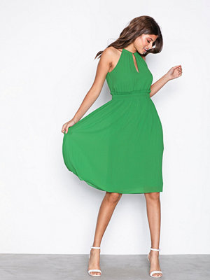 MICHAEL Michael Kors Chain Midi Dress Green