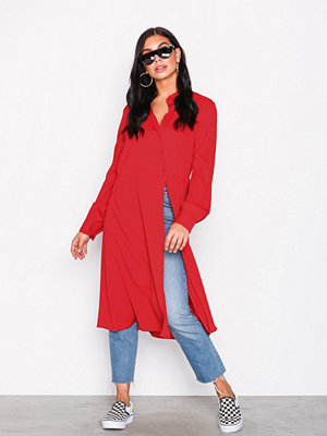 Vila Vilasha L/S Midi Shirt Dress