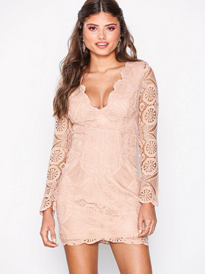 Love Triangle Atomic Mini Dress Pink