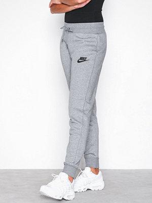 Nike ljusgrå byxor NSW Modern Pant Tight Carbon Black