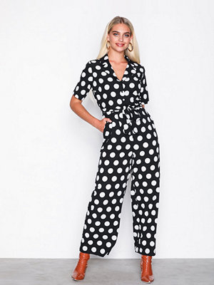 Jumpsuits & playsuits - Selected Femme Slfrosa 2/4 Jumpsuit Rt Svart