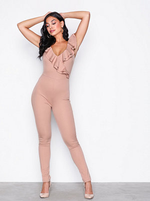 NLY One Frill Neck Jumpsuit