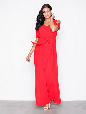Sisters Point Narva Long Dress Red