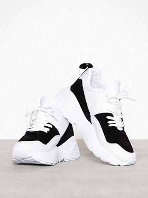 Sneakers & streetskor - NLY Shoes From The Block Sneaker Svart/Vit