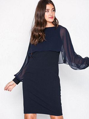 Lauren Ralph Lauren Dali Day Dress Navy