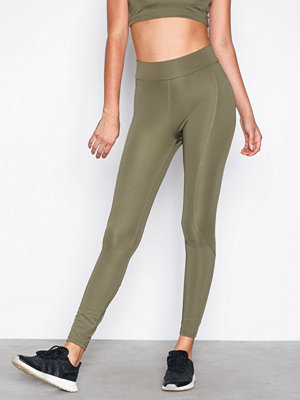 NLY SPORT High Waist Basic Tights Grön