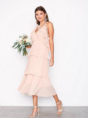 Festklänningar - True Decadence Frill Plisse Dress