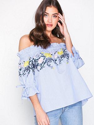 By Malina Ebony blouse Blue