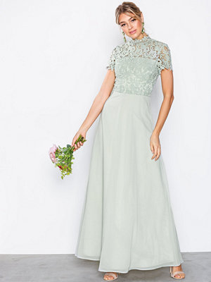 Chi Chi London Charissa Dress Sage