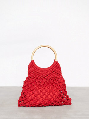 Handväskor - Topshop String Shopper Bag Red