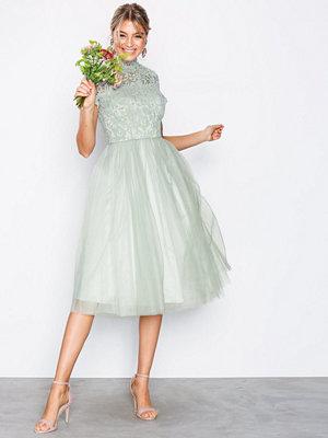 Chi Chi London Devon Dress Sage