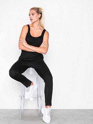 New Look Jersey Sleeveless Jumpsuit Black