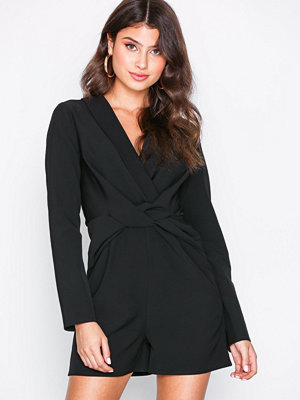 NLY Trend Suit Playsuit Svart