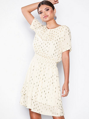 Object Collectors Item Objjosefine S/S Dress a Sp Offwhite