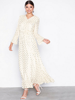 Object Collectors Item Objjosefine 3/4 Fabrice Long Dress Offwhite
