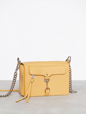 Rebecca Minkoff gul axelväska Mab Flap Crossbody Butterscotch