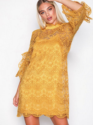 Y.a.s Yasdiadora 3/4 Dress - Das Orange