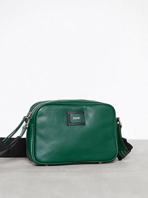Dagmar omönstrad axelväska Camera Bag Grön
