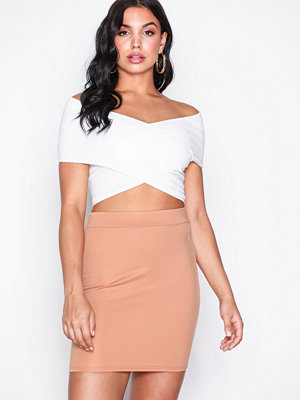 NLY One Mini Base Skirt Beige