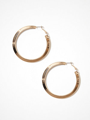 Pieces örhängen Pcjula Hoop Earrings Guld