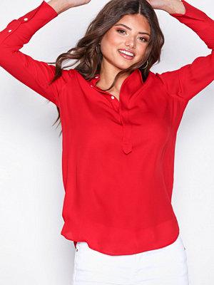 Polo Ralph Lauren Silk Shirt Red