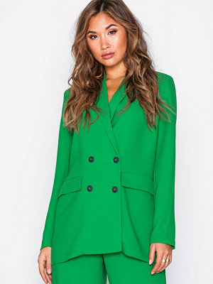 Selected Femme Slfjolly Blazer Rt Mörk Grön