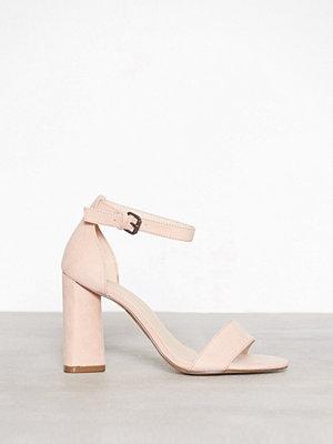 Bianco High Heel Sandal Powder