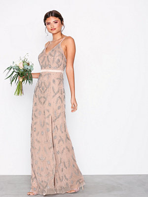 Maya Heavily Embellished Cami Maxi Dress