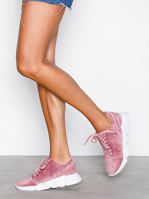 NLY Shoes Corduroy Sneaker Rosa