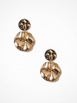 Only örhängen onlJANICE Sculptural Earrings Acc Guld