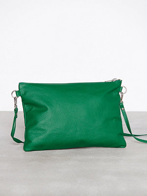 Dagmar grön axelväska Leather Strap Bag