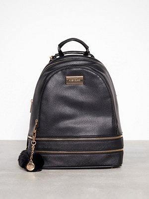 River Island svart ryggsäck Medium Backpack Black