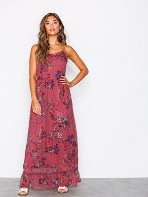 Vero Moda Vmkatinka Singlet Maxi Dress SB6 Mörk Lila