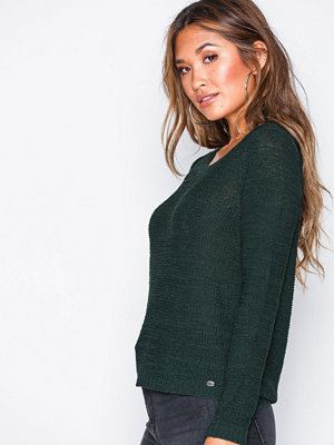 Only onlGEENA Xo L/S Pullover Knt Noos Green