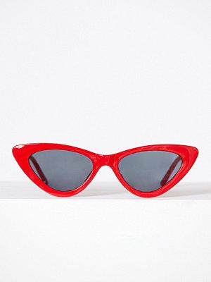 Pieces Pckamille Sunglasses Mörk Röd