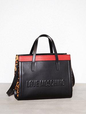 Handväskor - Love Moschino JC4137PP16LX1 Svart