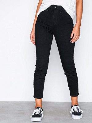 River Island Harper High Rise SL Jeans Black