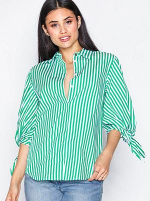 Lauren Ralph Lauren Frazir-3/4 Sleeve-Shirt Green