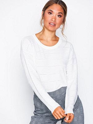 Jacqueline de Yong Jdypulli L/S Noos Pullover Knt Vit