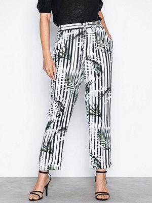 Lauren Ralph Lauren mönstrade byxor Saarah Skinny Pant