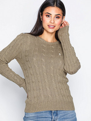 Polo Ralph Lauren Julianna-Classic-Long Sleeve-Sweater Brown
