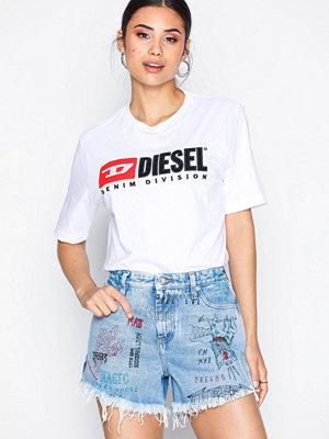 Shorts & kortbyxor - Diesel De-Saby-00SI86 Shorts Denim Blå