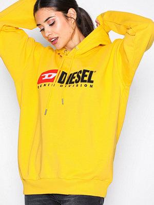 Street & luvtröjor - Diesel F-Division-FL 00SJGF Sweatshirt Yellow